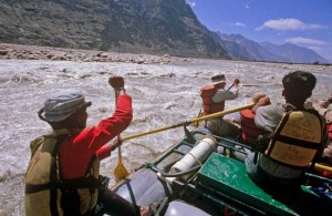 white water rafting india ladakh